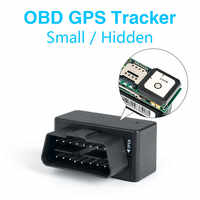 MiNi 16Pin OBD Car GPS Tracker GSM GPRS LBS/GPS Position SMS Tracking Locator Real Time Free Platform/App Tracking Geo-fence