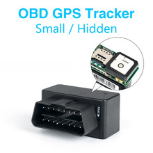 MiNi 16Pin OBD Car GPS Tracker GSM GPRS LBS/GPS Position SMS Tracking Locator Real Time Free Platform/App Tracking Geo-fence vehemo car truck gps gprs tracker mini obd ii interface real time tracking device 3 7v universal gps locator with software