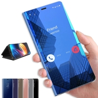 Custodia per telefono Smart Mirror per Xiaomi Redmi Note 9s 8 7 K20 5 6 Pro 8T 9A 8A 7 4X Mi 10 Note 10 Pro Lite 9 8 SE 9T A3 F1 CC9 Cover