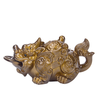 Bandeja de té Kungfu de silicona creativa que cambia de Color, accesorios de regalo para bandeja de té, artesanía de Brave Troop