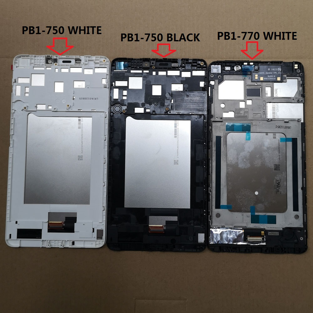New For Lenovo Phab PB1-750N PB1-750M PB1-750 PB1-770N PB1-770M PB1-770 LCD Display Touch Screen Digitizer Assembly With Frame
