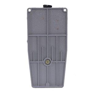 Image 4 - New LT4 Voetschakelaar Aluminium Case Treadle Voetpedalen Voor Machine Tool Control Zilver Contact