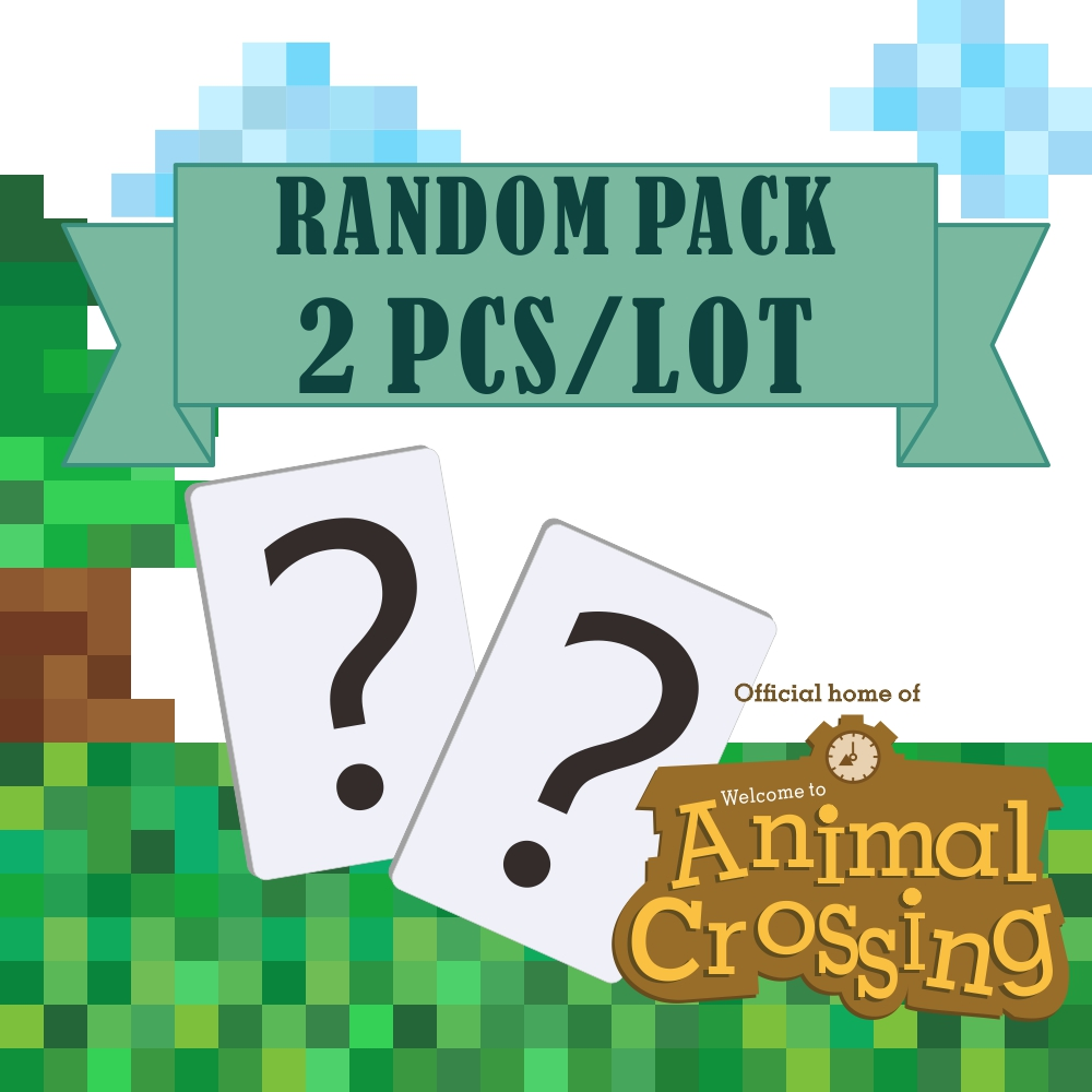 Randomly Ship 2pcs <font><b>Amiibo</b></font> Animal Crossing <font><b>Switch</b></font> Rv Welcome <font><b>Amiibo</b></font> <font><b>Card</b></font> <font><b>Nfc</b></font> Figure <font><b>Card</b></font> Animal Crossing Amiboo Animal Crossing image