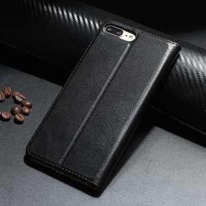 Image 2 - Echt Leer Case Voor Iphone 7 8 Plus Case Voor Xs Max Cover Window View Bescherming Coque Voor Iphone X xr Se 2020 Gevallen Fundas