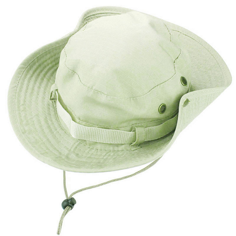 Mens New Fishing Boonie Military Wide Brim Bucket Caps Hats Hunting Outdoor Chic