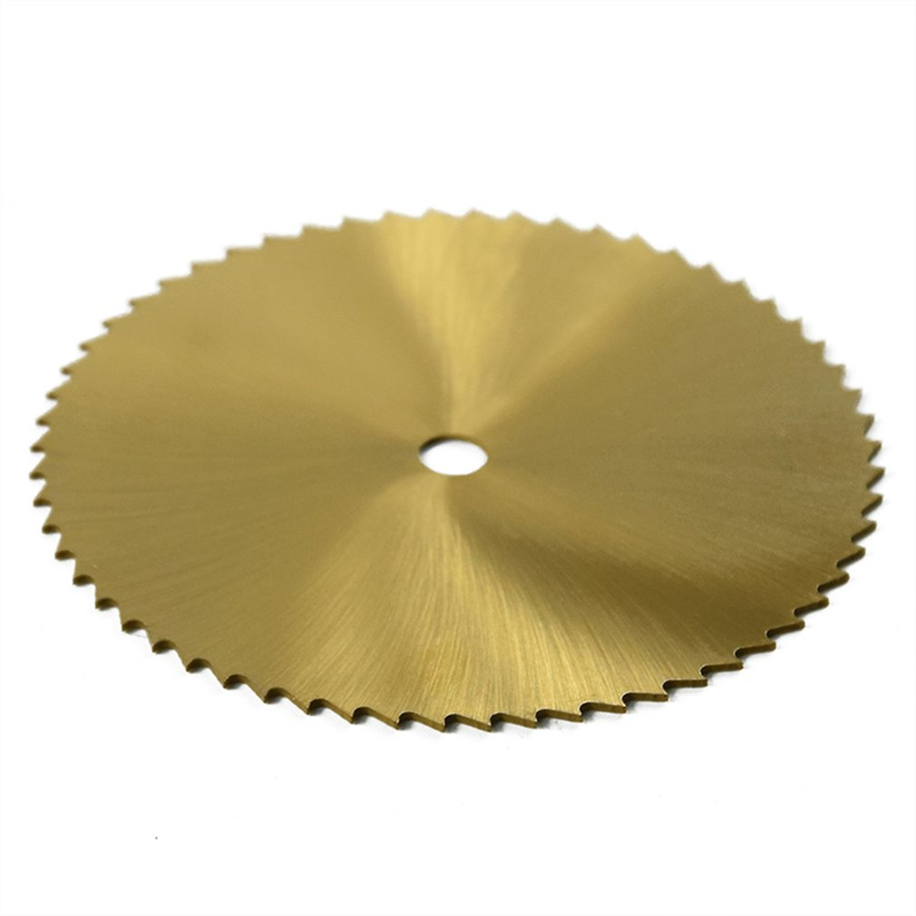 Cutting Wheel Disc 80mm Titanium Coated Grinding Grinder Rotary Tool Parts Accessories Sharp Blade Woodworking Stone