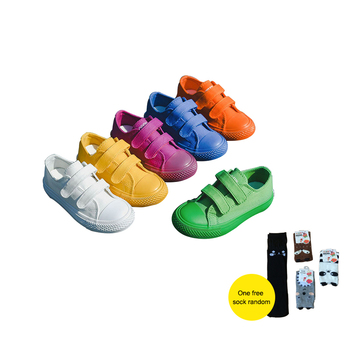 Students Canvas Shoes Breathable Boys Girls Sports Shoes Fashion Candy Sneakers Kindergarten Kids Toddler Shoes Sapato SH043 children canvas shoes fashion casual boys sneakers breathable girls flat shoes toddler baby kids shoes tenis infantil sapato