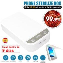 Uv Sterilizer Box Esterilizador Ultraviolet Ray Phone facemask Disinfection Cabinet for Jewelry Phone Sterilizer fast shipping