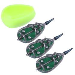 Metoda podajnik zanęta na karpie 30g 40g 50g zestaw ołów Sinker ołów przynęty uchwyt akcesoria wędkarskie podajnik koryta Pesca|Przynęty|Sport i rozrywka -