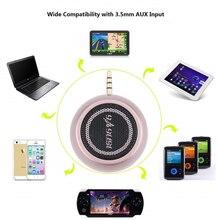 цена на 2020 New Mini Speaker 3.5mm Audio Jack 3W Portable Mobile Phone Speaker for iphone for android for ipad ipod Music Speaker