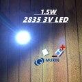Светодиодный светильник с подсветкой 1,5 Вт 3 в 1210 3528 2835 131LM CUW JHSP холодный белый ЖК-дисплей подсветка ТВ применение 4000 шт