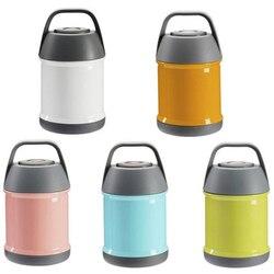 Hho-스테인레스 스틸 절연 식품 수프 찐 냄비 휴대용 여행 미니 핸들 가족 사무실 아기 진공 도시락 상자