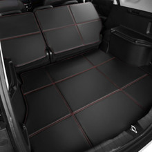 Waterproof Boot +Back Seat Carpets Durable Custom Special Car Trunk Mats for Jaguar F-PACE XJ XJL XF XE F-TYPE XK XFL XEL 3d full covered waterproof boot carpets durable custom car trunk mats for 2012 2018 year jaguar xfl xel xjl f pace xf xj