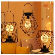 Ночсветильник Железный в стиле ретро настольная лампа светодиодная