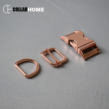 1 set strong metal buckle inch 25mm D rings  manufacturer for bag dog pet collar supplies accessories adjusters snap hook
