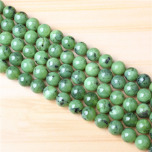 Plus jade 4/6/8/10/12mm Natural Gem Stone Polished Smooth Round Beads For Jewelry Making DIY Bracelets