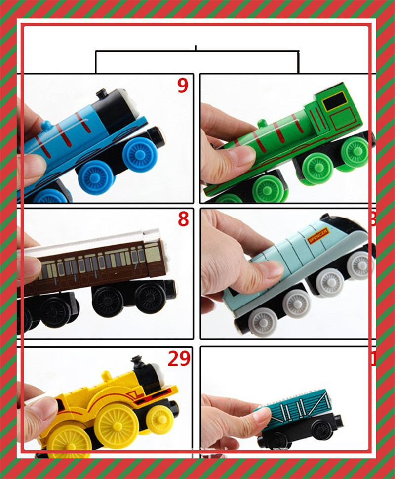 1 Henry Train Tram Wooden Train Hot Wheels Thomas and Friends Children's Gifts 36 Kinds of Children's Choice Emily. Jasmine Trai(China)