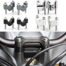 """Для Yamaha FZ1 FZ6 FZ16 FZ8 Fazer MT-25 MT-03 XJR 400 TDM 900 FZ6R 22 мм 7/"""" мотоцикл жир бар стояк крепление руль стояки"""
