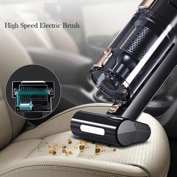 120W 5000PA Car Vacuum Cleaner Wireless Wired Powerful Car Home Dual-purpose Charging Mini High Power Handheld Vacuums ASK610