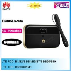 Routeur WiFi de poche sans fil Huawei WiFi 2 Pro E5885 E5885Ls-93a 3G 4G LTE FDD TDD avec Port Ethernet 6400mAh
