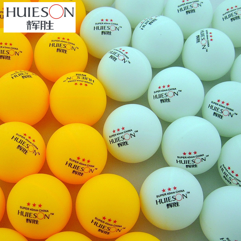 20 30 50 60 100 Pcs 3-Star 40mm 2.9g Table Tennis Balls Ping Pong Ball White Orange Pingpong Ball Amateur Advanced Training Ball