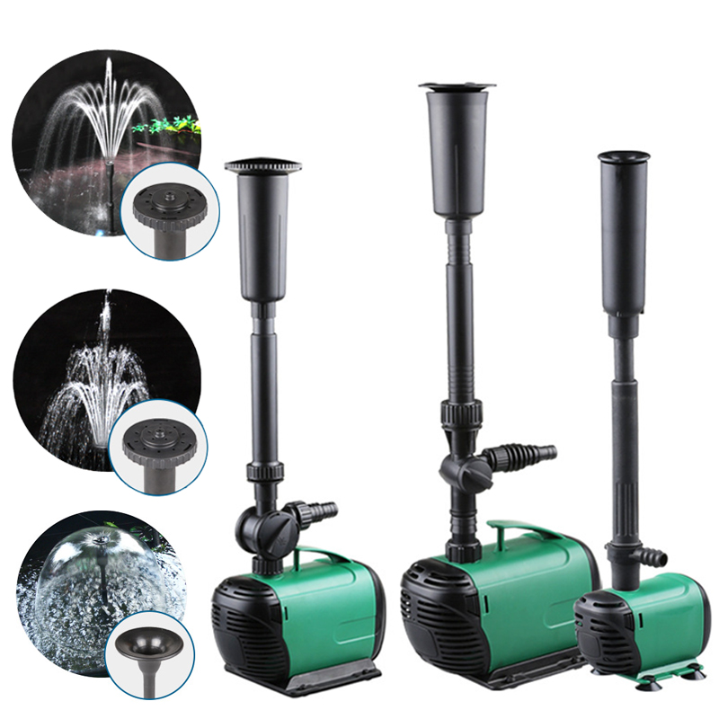 8/14/24/55/85W Hot Multi Performance High Power Fountain Water Pump Fountain Maker Pond Pool Garden Aquarium Fish Tank Circulate