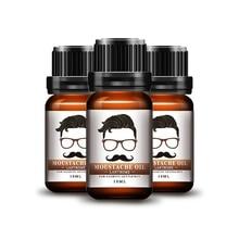 Hot Natural Men Beard Oil Beeswax Hair Styling Moisturizing Smoothing Soften Gen