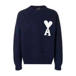 DUYOU 2019 Neue Herbst Winter Pullover Männer Pullover Liebe Herz Brief Gestrickte Pullover Männlichen Casual Mode Hohe Qualität Pullover