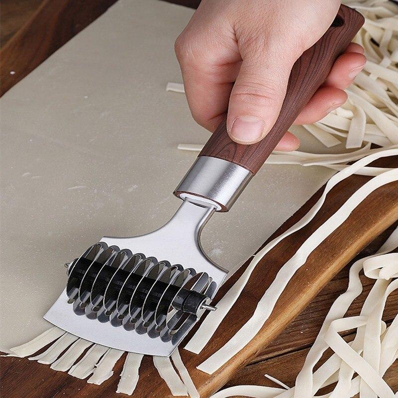 Edelstahl Manuelle Nudel Maker 0,5 CM Pasta Maker Pasta Cutter Nudel Drücken Manuelle Küchenmaschinen Küche Werkzeug Dropship