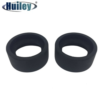 2 sztuk średnica wewnętrzna 36 mm okular oczu tarcza gumowe osłony oczu oczu kubki dla 34-37mm soczewka okularu dla mikroskopu lub teleskopu tanie i dobre opinie HUILEY OT004-2 NONE Mikroskop Eyepieces Soft rubber can be folded fit for 34-37 mm eyepiece lens