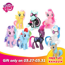 My Little Pony Speelgoed Friendship Is Magic Rainbow Dash Pinkie Pie Lyra Heartstring Zeldzaamheid Pvc Action Figure Collectible Model Pop(China)