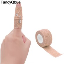 1 rolle 2.5*450cm Bunte Selbst Klebe Elastische Bandage Wrap Band Erste Hilfe Kits Für Knie Unterstützung Pads finger Knöchel Palm Schulter