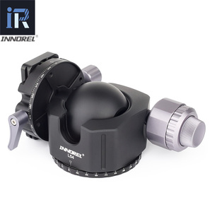 Image 3 - INNOREL L54/L44 tripod head for heavy duty digital SLR cameras with aluminum alloy panorama Low gravity center tripod ball head