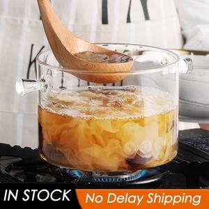 Bowl Cooking-Tools Microwave Glass Soup Fire-Heating Kitchen Transparent Heat-Resistant