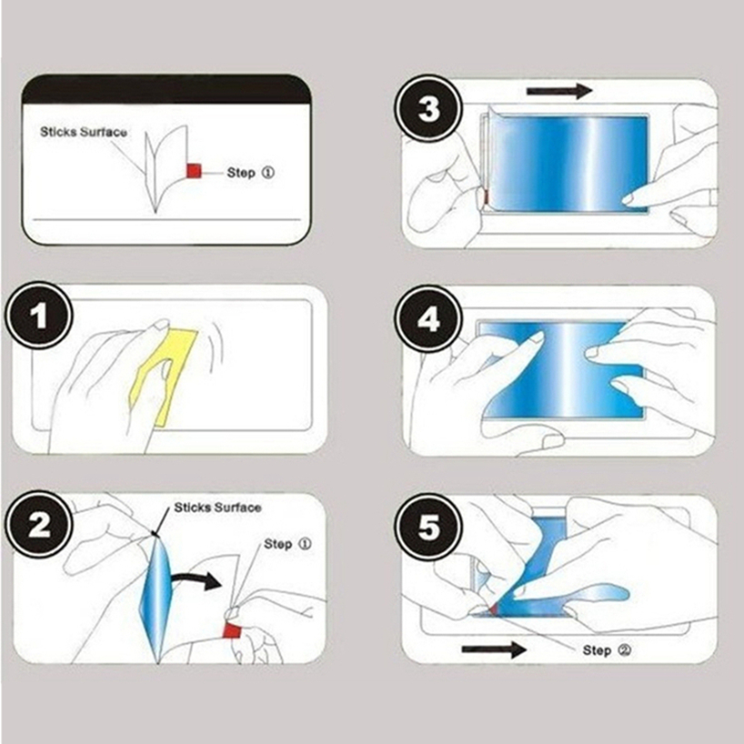 5pcs Soft Glossy Clear Screen Protector Tempered Glass Film For Xiaomi Redmi Models 1