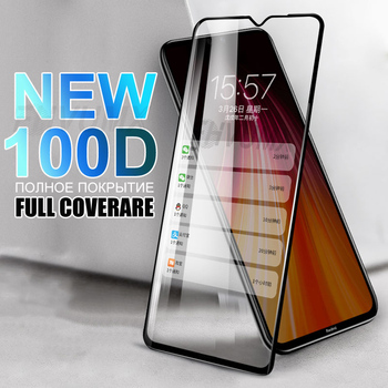 100D Tempered Glass For Xiaomi Redmi 9 9A 9C 7 8 8A Screen Protector Glass For Redmi Note 7 8 9 Pro 8T 9S Protective Film Case nillkin amazing h h pro tempered glass screen protector for xiaomi redmi note 9s k30 k20 note 8 8t 8pro redmi 8 8a glass