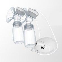 Двойные электрические молокоотсосы, умные автоматические два соска, молочный массаж, кормление грудью, насос, сделай сам, безопасный USB молочный насос