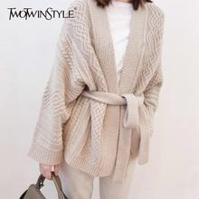 Waist Sweater Bowknot Lace