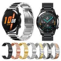 Metalen Polsband Voor Huawei Horloge Gt 2 46Mm 42Mm/Gt Actieve Band Armband Voor Honor Magic vervangbare Accessoires Horlogebanden