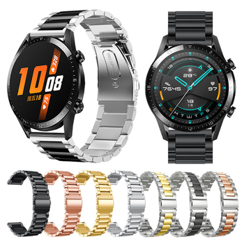 Metal Wrist Strap For HUAWEI WATCH GT 2 46mm 42mm/GT Active Band Bracelet for HONOR Magic Replaceable accessories Watchbands