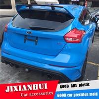 For Focus Spoiler 2012 2016 Ford Focus Hatchback RSK Spoiler ABS plastic Material Car Rear Wing Color Rear Spoiler