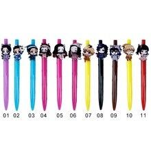 1 шт. Милые Каваи 0.7 мм шариковая ручка японского аниме Демоне ручка для школы канцелярские подарок