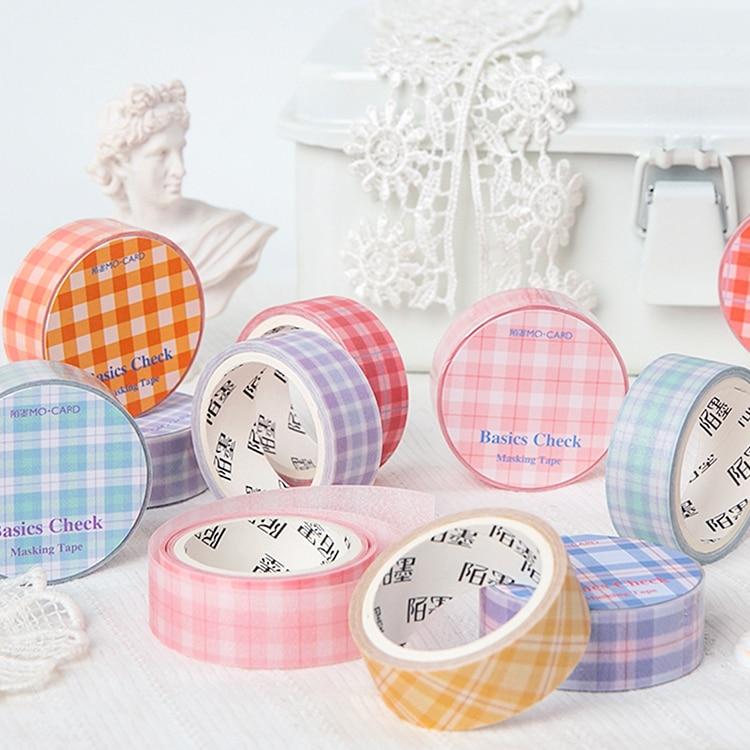 1pcs/lot Washi Masking Tapes Picnic Diary Decorative Adhesive Scrapbooking DIY Paper Japanese Stickers