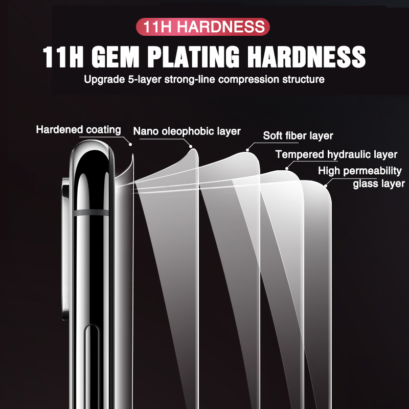 Image 4 - 3Pcs Screen Protector Tempered Glass on For Xiaomi Redmi Note 5 7 8 6 Pro 5A 6 For Redmi 5 Plus 5A 6A Full Protective Glass Film-in Phone Screen Protectors from Cellphones & Telecommunications