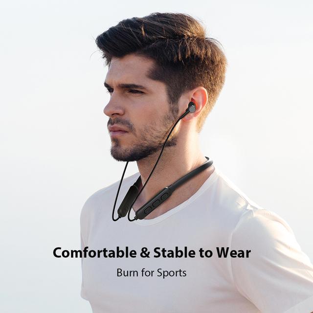 DACOM G03H Neckband Sports Bluetooth Headphone 5.0 Sweatproof Wireless Earphone 10H Playback Headset for iPhone Samsung Xiaomi