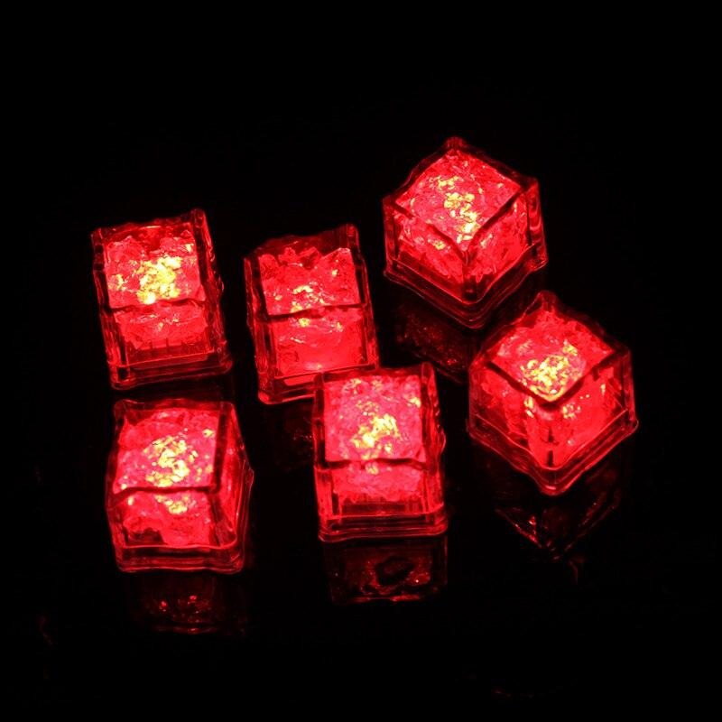 Flash LED Ice Cubes DIY Colorful Party Festival Wedding Xmas Decor LED Drinking Ice Cubes Night Glowing Light _WK