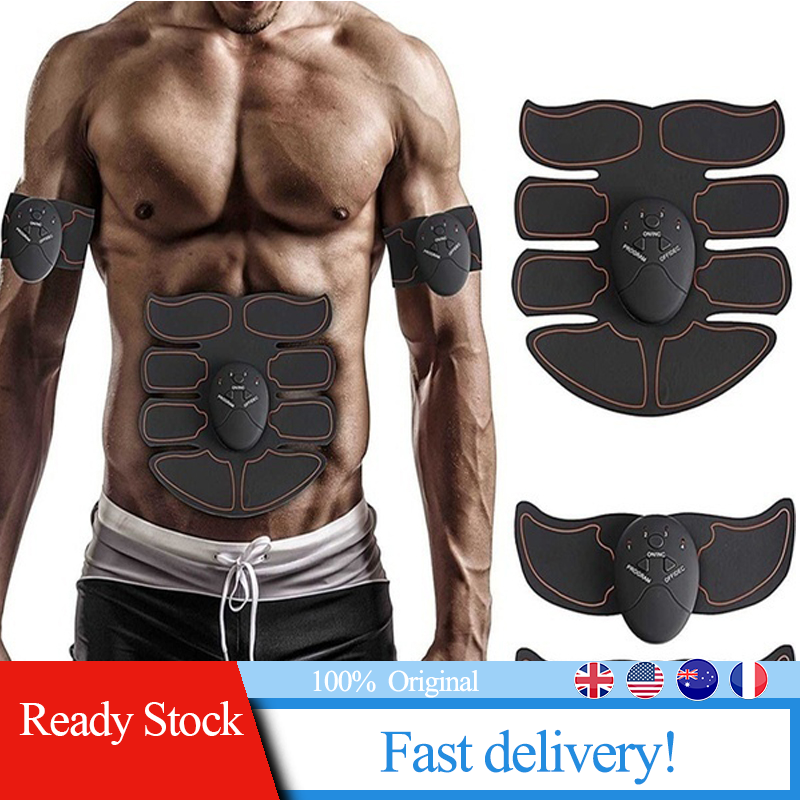 Muscle Trainer 8 PCS Of Abdominal Muscle Patch Smart Fitness Equipment Outdoor Office Home Fitness Equipment Lazy Fitness