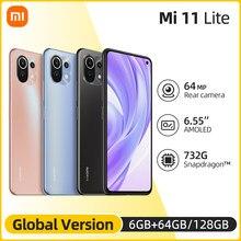 Global Version Xiaomi Mi 11 Lite Smartphone Snapdragon 732G Octa Core 64GB/128GB 4520mAh NFC 64MP Rear Camera
