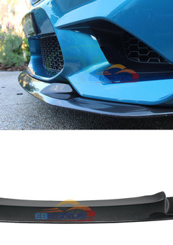 GTS Style Carbon Fiber Front Lip spoiler for BMW F87 M2 B526 1