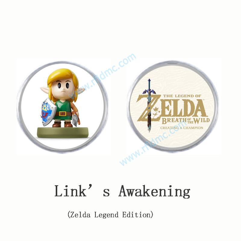 New Amiibo Link's Awakening Amiibo Coin Tag The Legend Of Zelda